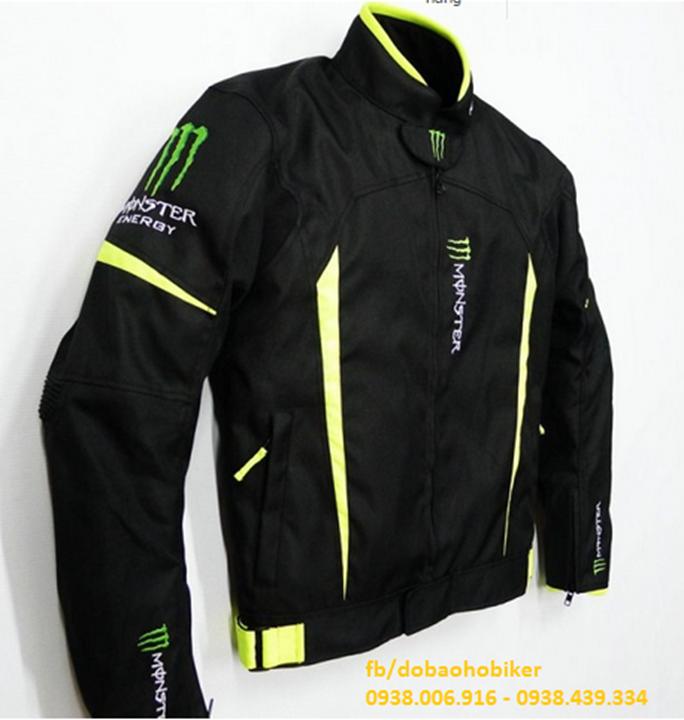 Ao giap di moto xe may Kawasaki Monster - 2