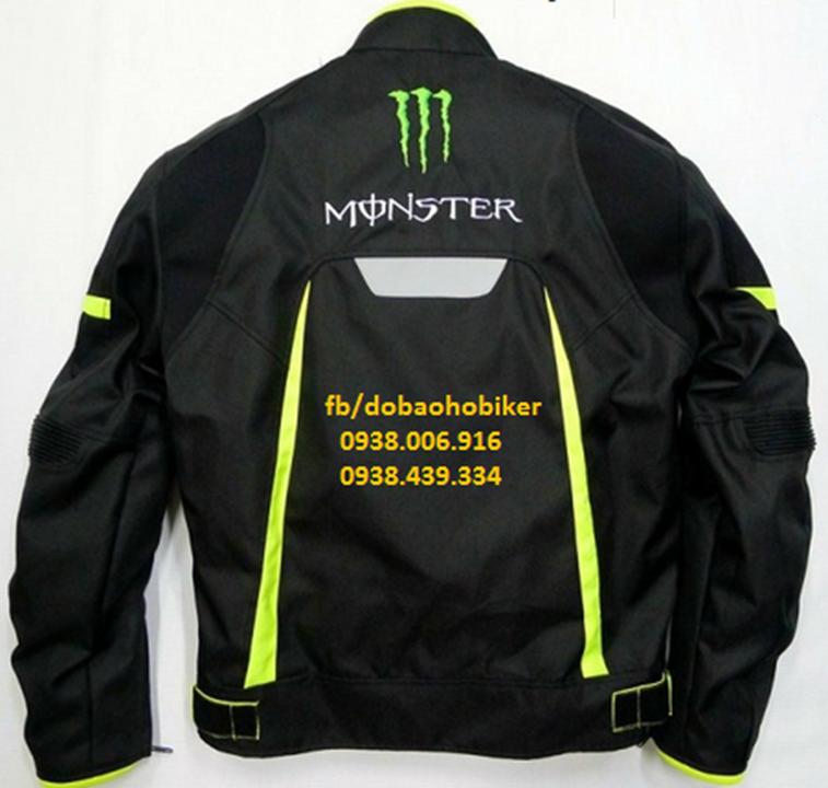 Ao giap di moto xe may Kawasaki Monster - 3