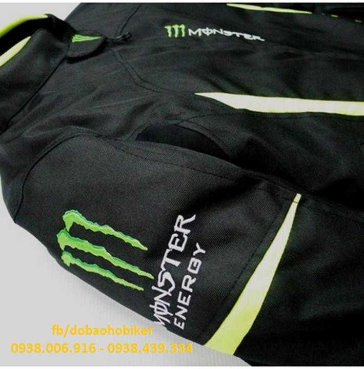 Ao giap di moto xe may Kawasaki Monster - 4