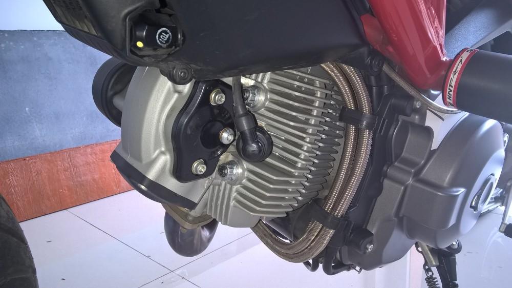 Ban Ducati 795 black 2014 - 3