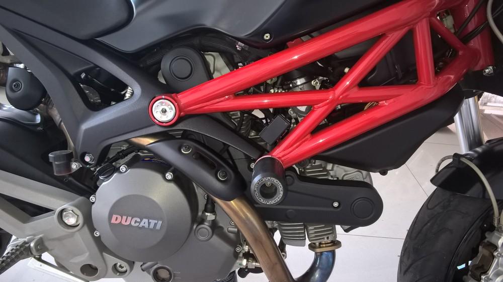 Ban Ducati 795 black 2014 - 6