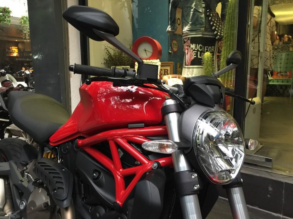 Ban Ducati Monster 821 600km - 8