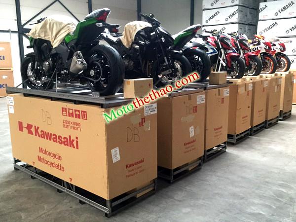 Ban honda kawasaki Suzuki Yamaha nhap Chau Au 2015 2016 gia sieu tot - 4