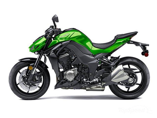 Ban xe kawasaki Z1000 ABS 2015 mau xanh den - 2