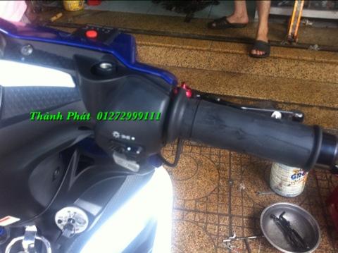 Bao Tay Gu Tay Thang Kieu Cum tang toc cho xe PKL va xe nho Barracuda DPM RIZOMA JapanSpeed - 8