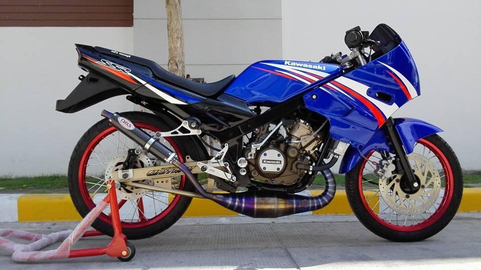 Kawasaki Kips 150 phong cach chi co the noi la Chat