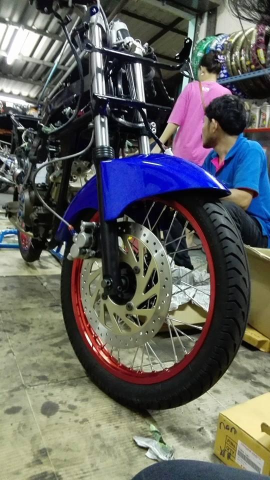 Kawasaki Kips 150 phong cach chi co the noi la Chat - 6