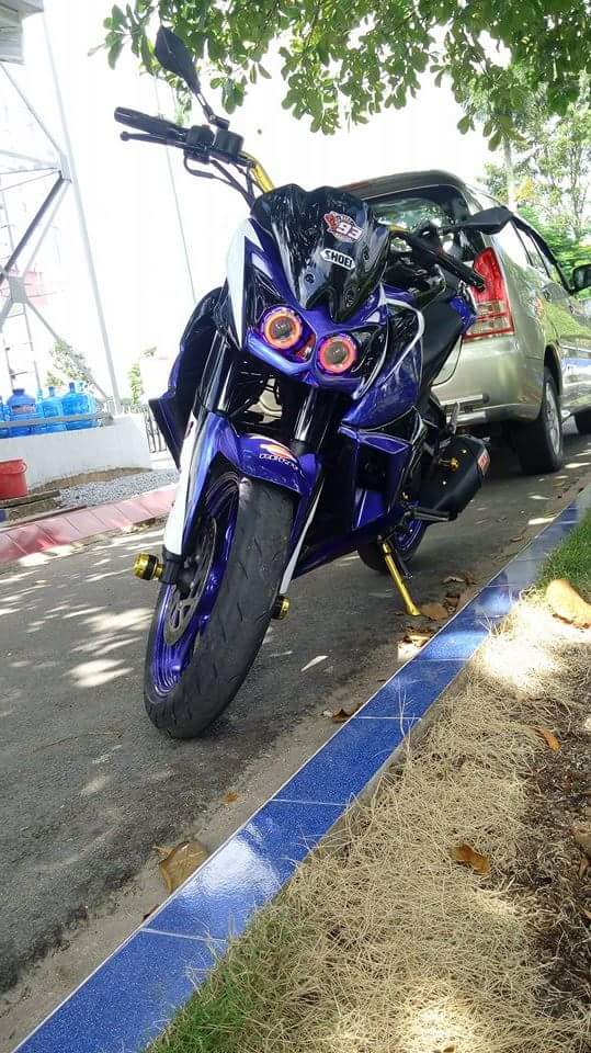 Can canh Yamaha FZ16 voi y tuong do z1000 ham ho - 2