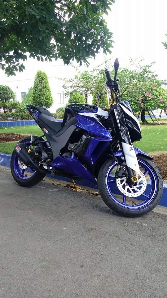 Can canh Yamaha FZ16 voi y tuong do z1000 ham ho - 4