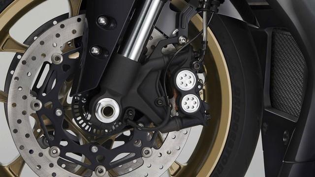 Can canh Yamaha YZFR1 phien ban mau vang den tuyet dep - 11
