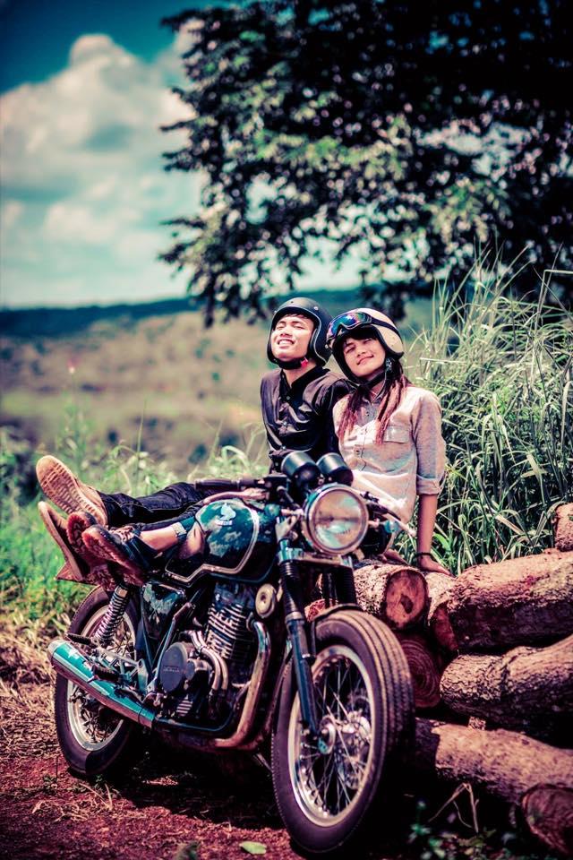 Cap doi tao dang cuc chat ben Cafe Racer tai Viet Nam - 8