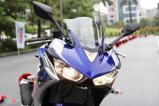 Chi tiet Yamaha YZFR3 gia 150 trieu moi ra mat - 5