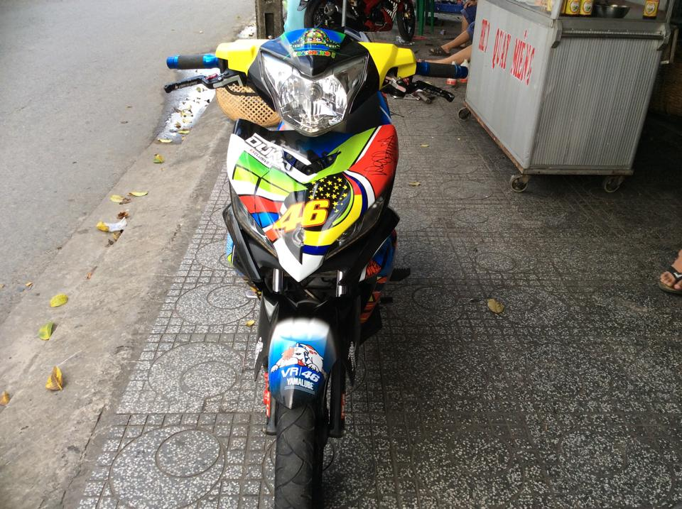 Chiec ma Exciter 135cc phien ban 46 Rossi