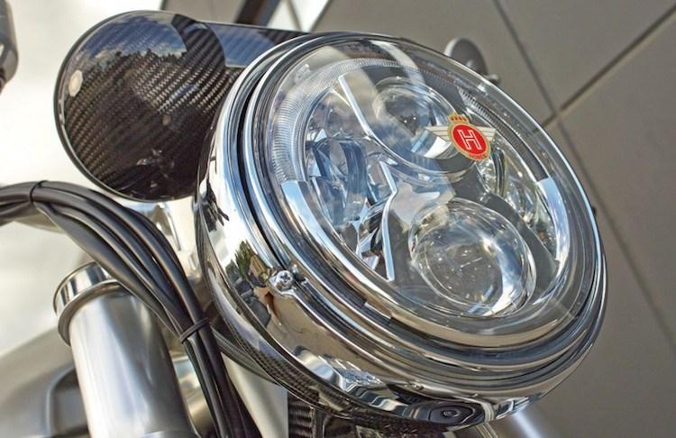 Chien binh giap sat Horex VR6 Silver Edition - 4