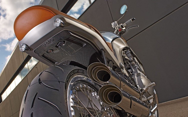Chien binh giap sat Horex VR6 Silver Edition - 8