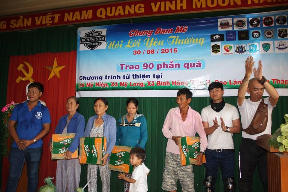 Chuong trinh CHUNG DAM ME NOI LOI YEU THUONG cua CLB Exciter Hoang Nam - 2