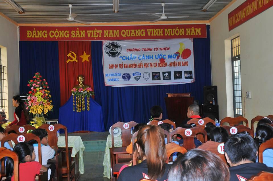 Chuong trinh thien nguyen Chap Canh Uoc Mo cua CLB Exciter Binh Phuoc - 4