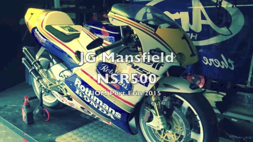 Clip Honda NSR 500 cung test max speed 2015