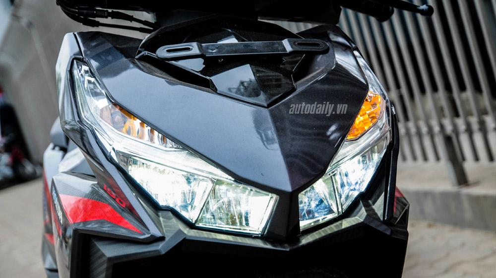 Clip Honda Vario 150 do den led doc dao