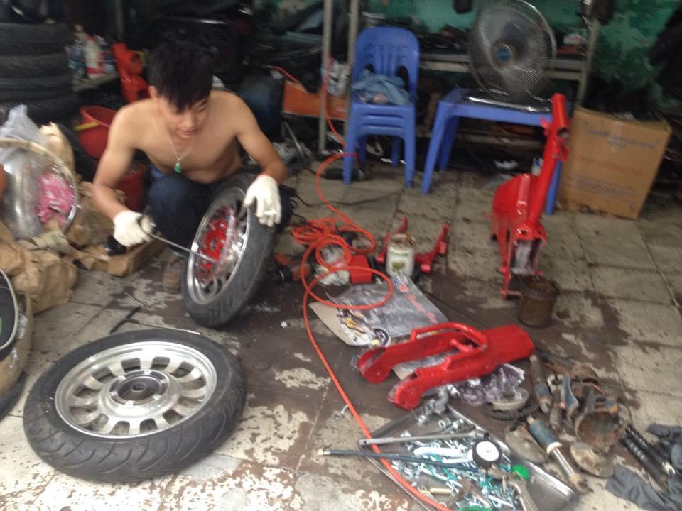 Cub do Streetcub cua Nu biker ca tinh va Chang sinh vien me do xe - 6