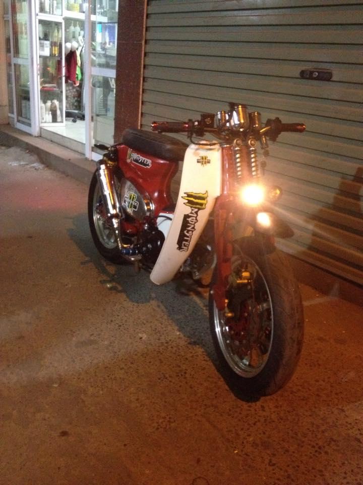 Cub do Streetcub cua Nu biker ca tinh va Chang sinh vien me do xe - 7