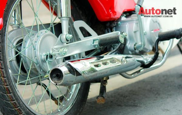 Daelim Super Cub 50cc mau xe danh cho gioi tre - 5
