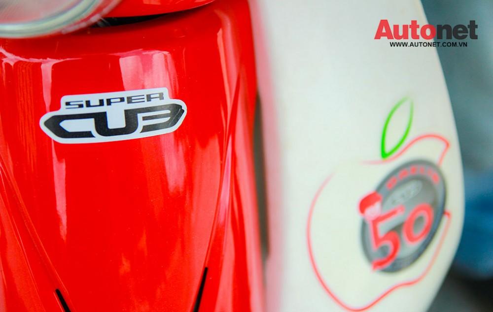 Daelim Super Cub 50cc mau xe danh cho gioi tre - 18