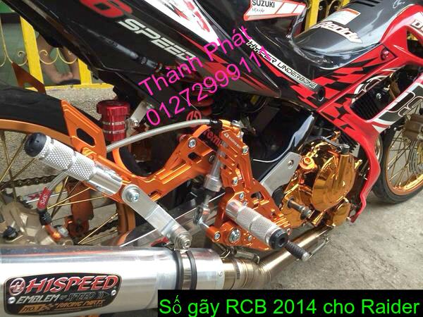 So gay gac chan sau cho Ex150 Ex2011 MSX125 FZ150i Raider KTM DukeUp 1192015 - 41