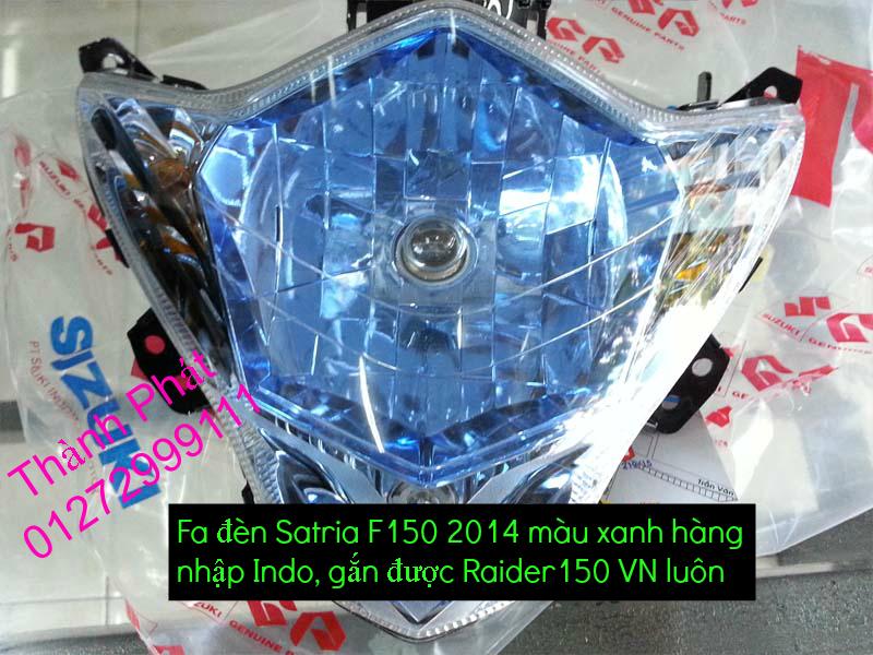 Do choi cho Raider 150 VN Satria F150 tu AZ Up 992015 - 6