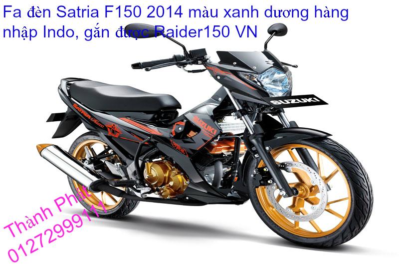 Do choi cho Raider 150 VN Satria F150 tu AZ Up 992015 - 7