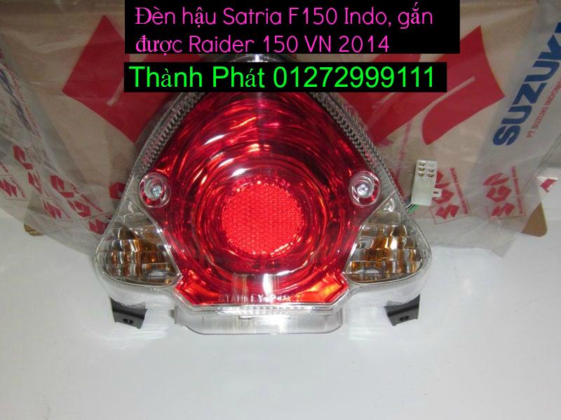 Do choi cho Raider 150 VN Satria F150 tu AZ Up 992015 - 23
