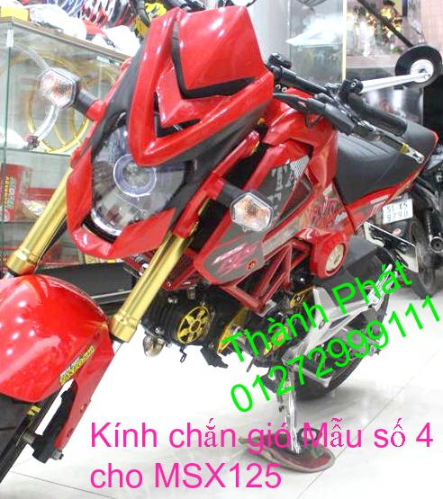 Do choi Honda MSX 125 tu A Z Po do Kinh gio Mo cay Chan bun sau de truoc Ducati Khung suo - 19