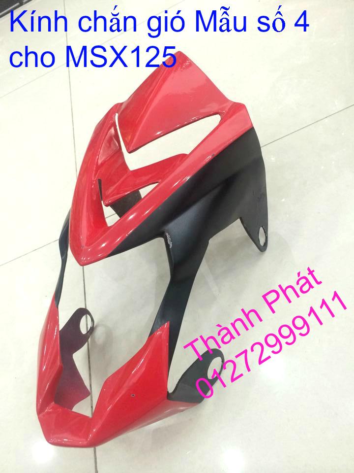 Do choi Honda MSX 125 tu A Z Po do Kinh gio Mo cay Chan bun sau de truoc Ducati Khung suo - 17
