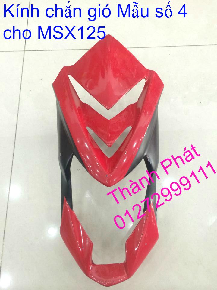 Do choi Honda MSX 125 tu A Z Po do Kinh gio Mo cay Chan bun sau de truoc Ducati Khung suo - 16