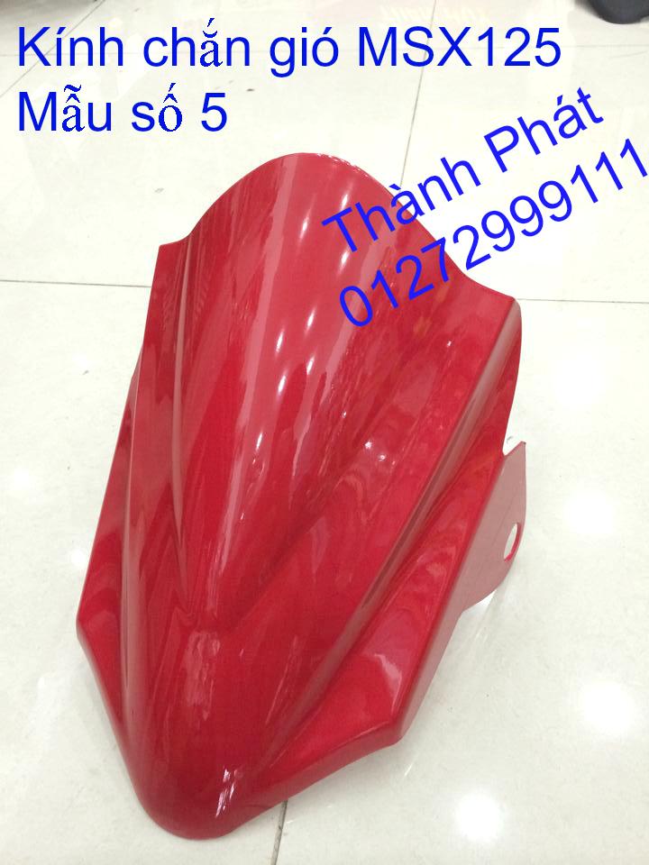 Do choi Honda MSX 125 tu A Z Po do Kinh gio Mo cay Chan bun sau de truoc Ducati Khung suo - 20