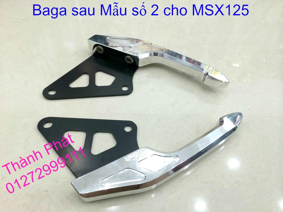 Do choi Honda MSX 125 tu A Z Po do Kinh gio Mo cay Chan bun sau de truoc Ducati Khung suo - 11