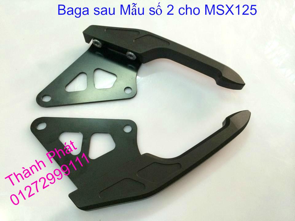 Do choi Honda MSX 125 tu A Z Po do Kinh gio Mo cay Chan bun sau de truoc Ducati Khung suo - 12