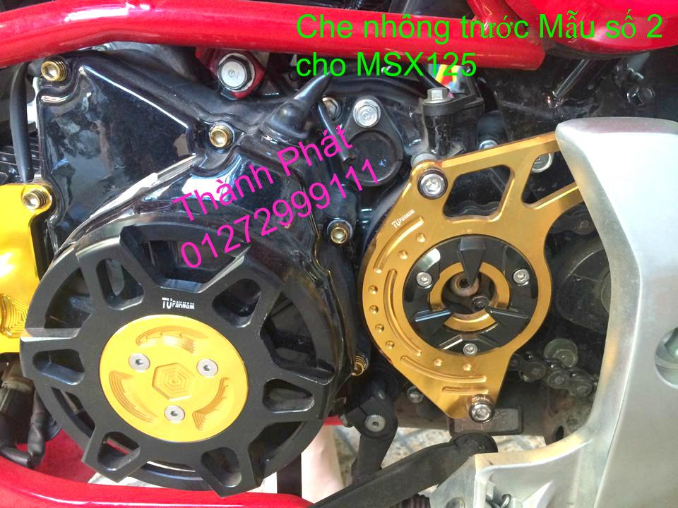 Do choi Honda MSX 125 tu A Z Po do Kinh gio Mo cay Chan bun sau de truoc Ducati Khung suo - 13
