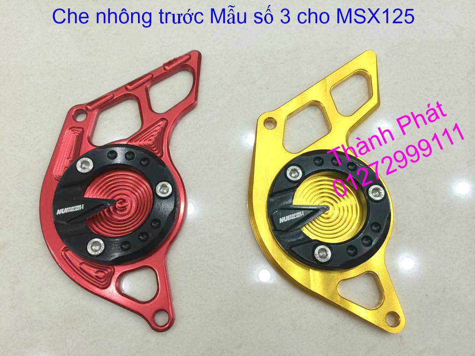 Do choi Honda MSX 125 tu A Z Po do Kinh gio Mo cay Chan bun sau de truoc Ducati Khung suo - 14