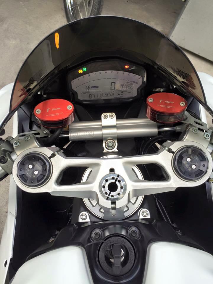 Ducati 899 Panigale tuyet dep voi dan chan tu 1199 Panigale - 4