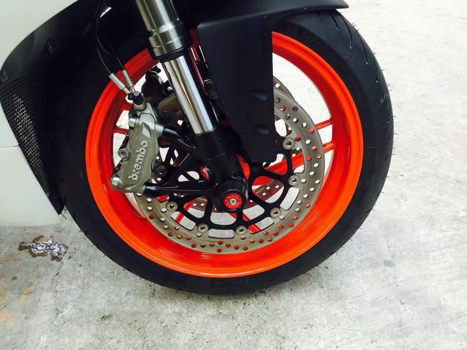 Ducati 899 Panigale tuyet dep voi dan chan tu 1199 Panigale - 5