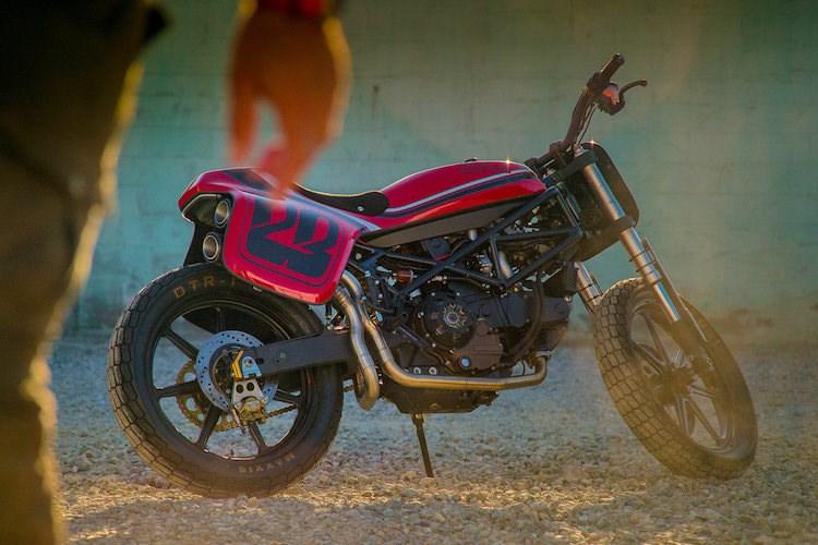 Ducati Monster street tracker hang khung tu Volkswagen - 7