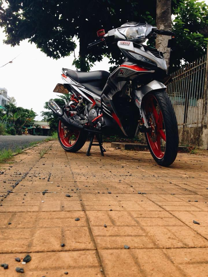 Exciter 135 che nhua doc phong cach Brembo voi nhieu do choi