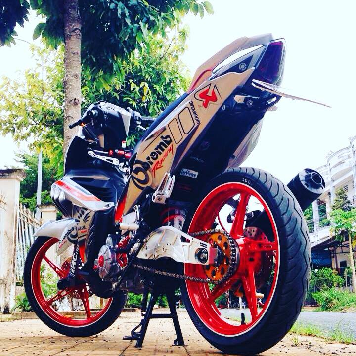 Exciter 135 che nhua doc phong cach Brembo voi nhieu do choi - 2