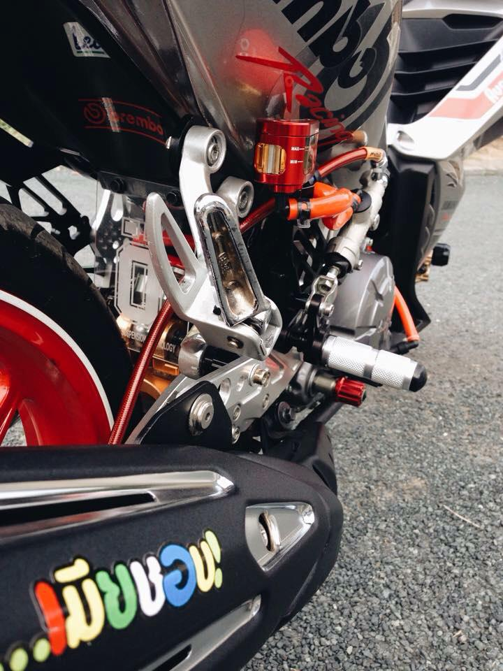Exciter 135 che nhua doc phong cach Brembo voi nhieu do choi - 5