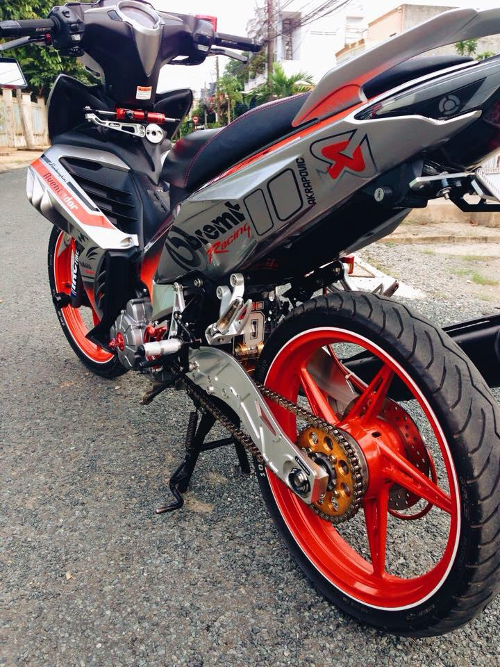 Exciter 135 che nhua doc phong cach Brembo voi nhieu do choi - 6