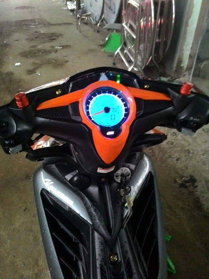 Exciter 135cc su tro lai mang phong cach 46 an tuong - 5