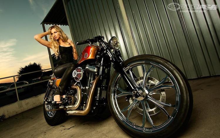Harley Davidson FortyEight do Cafe Racer sieu ngau ben nguoi mau ca tinh - 8