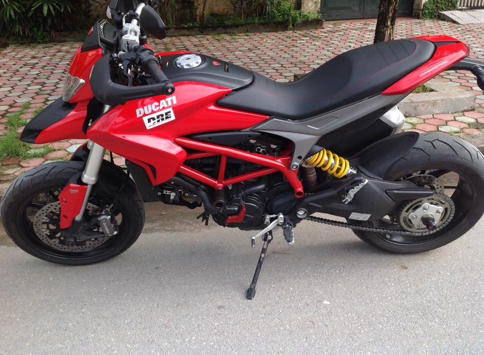 HN Ban Ducati Hypermotard 821 2014