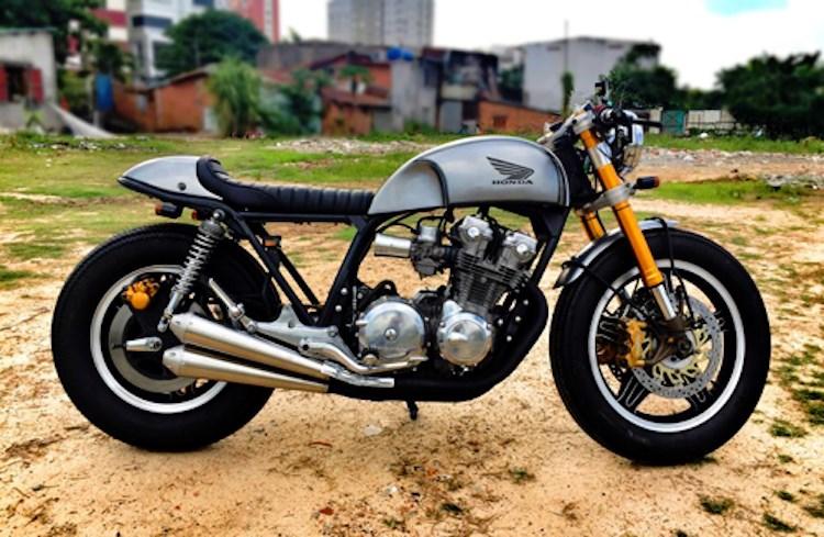 Honda CB750 cafe racer do cuc chat qua ban tay tho Viet - 5